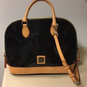 Dooney and Bourke patent leather bag